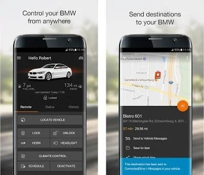 BMW Connected 6 1 1 5396 apk download for Android • de bmw connected