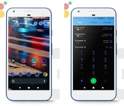G-Pix [Android Q] Dark EMUI 8/5/9 THEME 13 apk download for