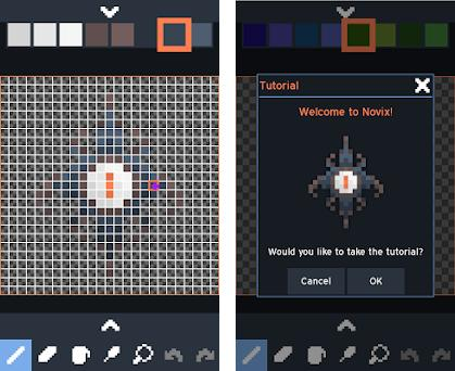 Novix Pixel Editor 1 1 5 apk download for Android • io anuke