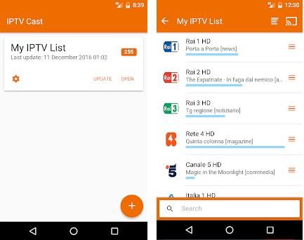 IPTVCast 1 2 6 apk download for Android • it ft flamingo iptvcast