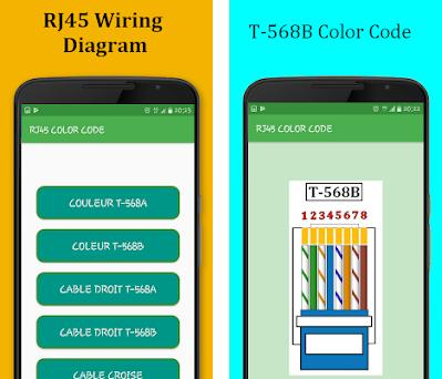 RJ45 Color Code Cable Wiring 1.0 apk download for Android ... on