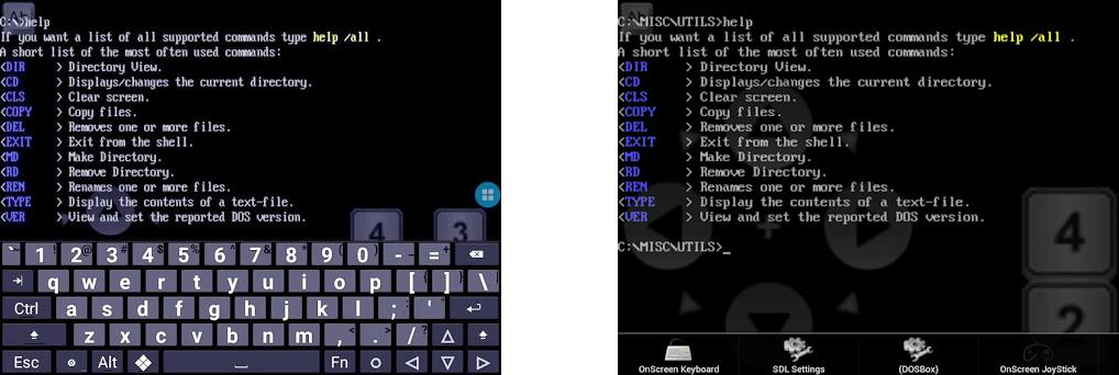 gDosBox - DOSbox for Android 0 7 5 5 apk download for Android • org
