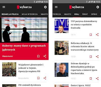 Gazeta Wyborcza - facts, politics, business, sport preview screenshot