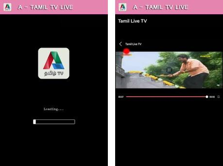A - Tamil Live TV 6 7 apk download for Android • a tamiltv