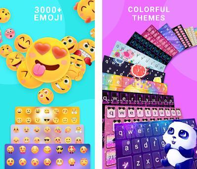 ❤️Emoji keyboard - Cute Emoticons, GIF, Stickers 3 4 986