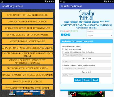 Driving License India