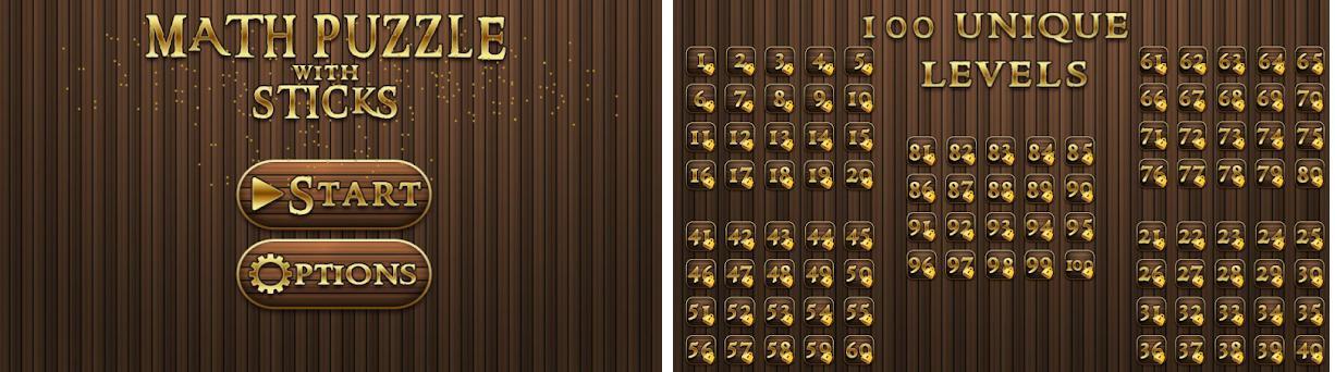 Puzzle con los palillos Capturas de pantalla