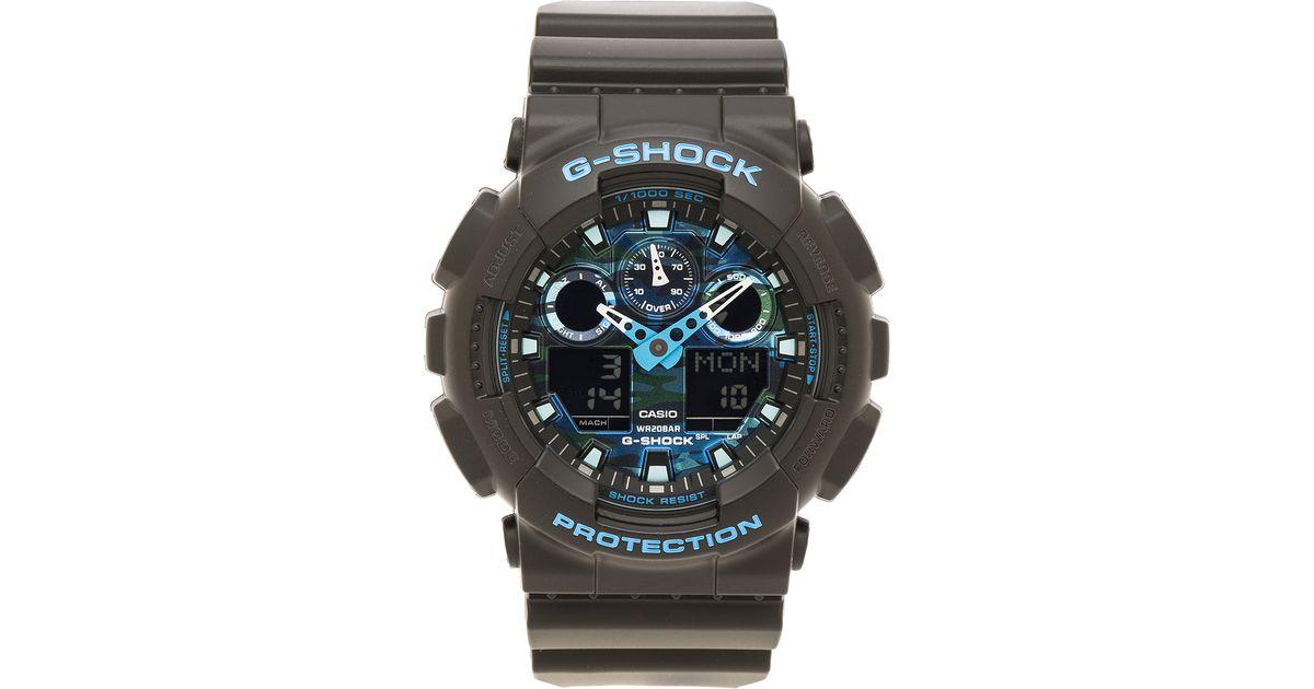 G-Shock Ga-100 in Black for Men - Lyst