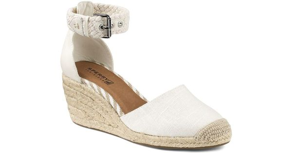 Lyst Sperry TopSider Espadrille Wedge Sandals