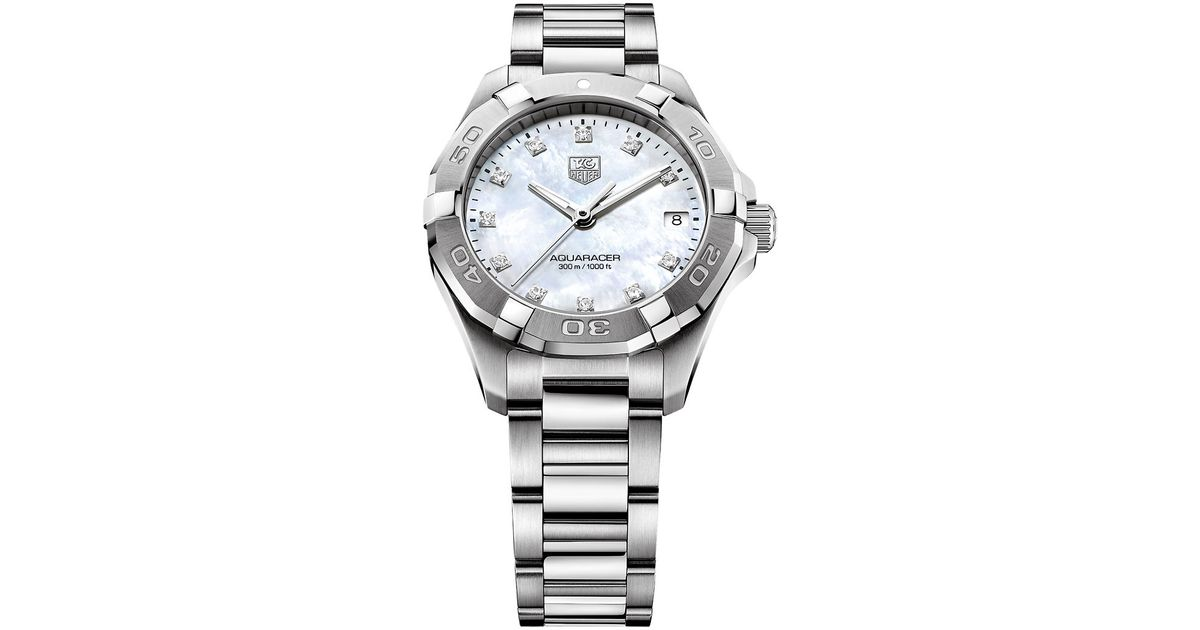 Tag heuer Ladies Aquaracer Diamond Stainless Steel