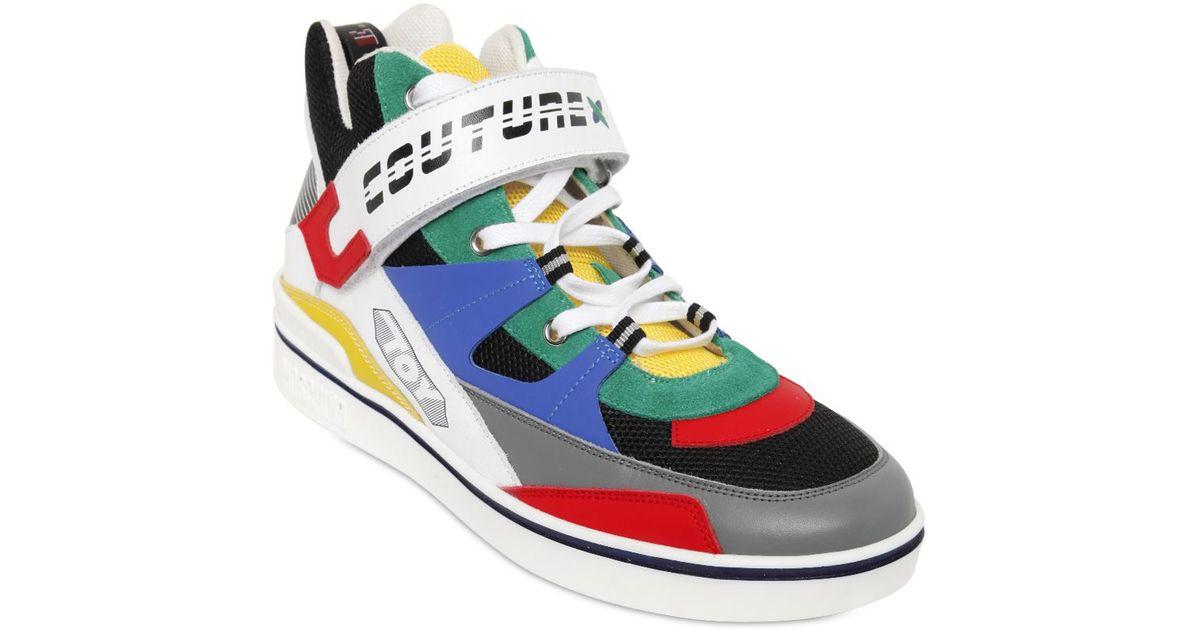 Multi Colored Sneakers Men