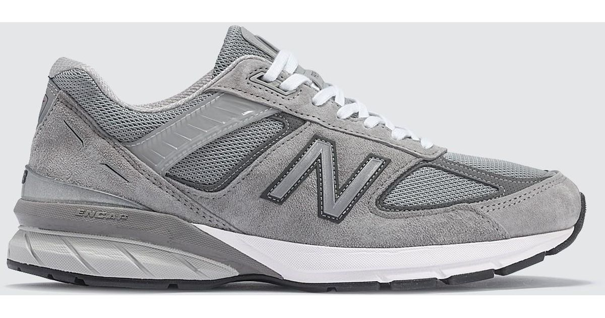 New Balance Made In Usa 990 V5 in Grey (Gray) for Men - Lyst