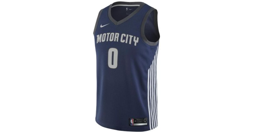 581a2afd8e9 Lyst Nike Andre Drummond City Edition Swingman Jersey Detroit