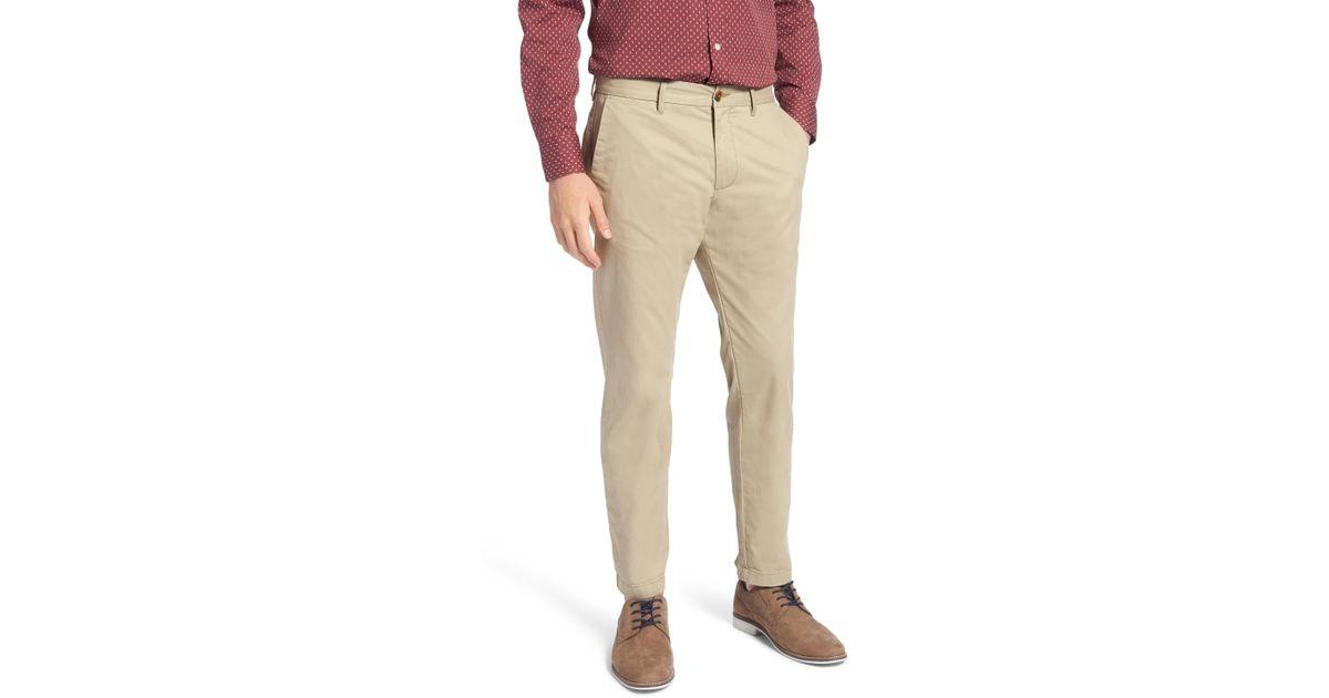 Lyst  Nordstrom 1901 Ballard Slim Fit Stretch Chino Pants
