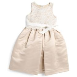 1a3b8ab692b28 Lyst Tj Maxx Little Girls Lace Overlay Satin Flower Girl Dress In
