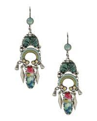Ayala bar Earrings in Green (Light green) | Lyst