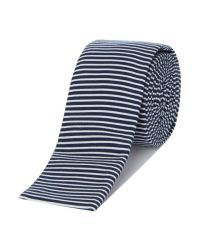 Ted baker Cruize Horizontal Stripe Tie in White for Men   Lyst