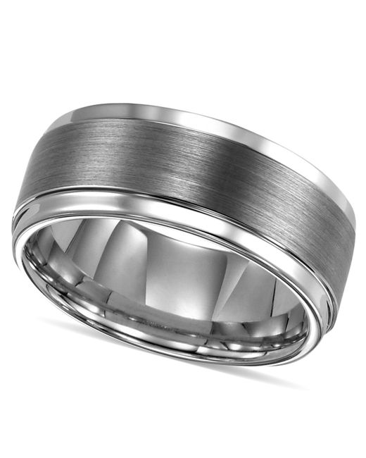Triton Tungsten Carbide Comfort Fit Wedding Band 9mm Band