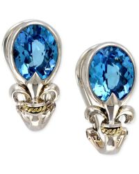 Effy collection Balissima By Effy Blue Topaz Fleur De Lis