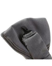 Valentino Light Grey Silk Bow Tie in Gray for Men (grey ...