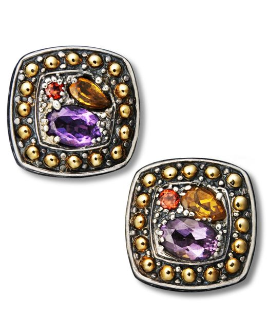 Effy collection Balissima By Effy Multistone Square Stud