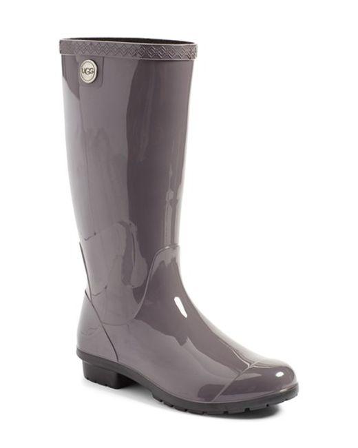 Ugg Ugg shaye Rain Boot in Gray  Save 2  Lyst