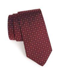 Gitman brothers vintage Geometric Silk Tie in Red for Men ...