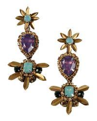 Deepa gurnani Earrings in Gold   Lyst