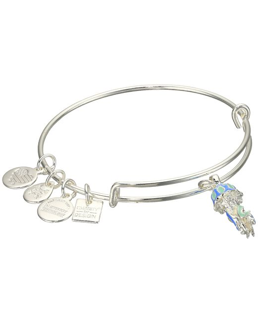 Alex and ani Charity By Design Jelly Fish Bangle in