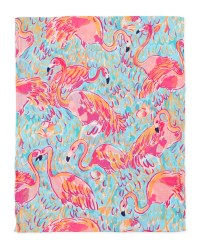 Lilly pulitzer Riley Printed Infinity Scarf | Lyst