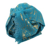 Lyst - Bajra Splatter Wool Scarf in Blue