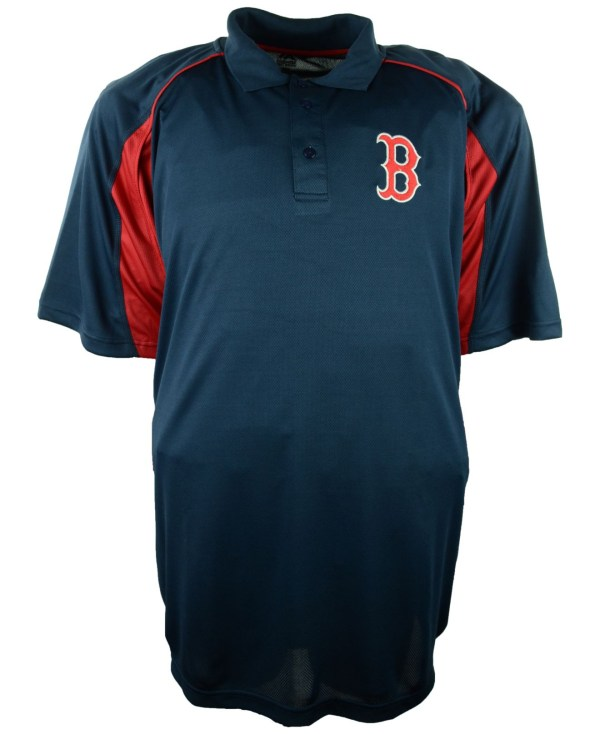 Majestic Big & Tall Short-sleeve Boston Red Sox Birdseye