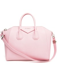 Lyst - Givenchy Antigona Grained Leather Tote Bag in Pink