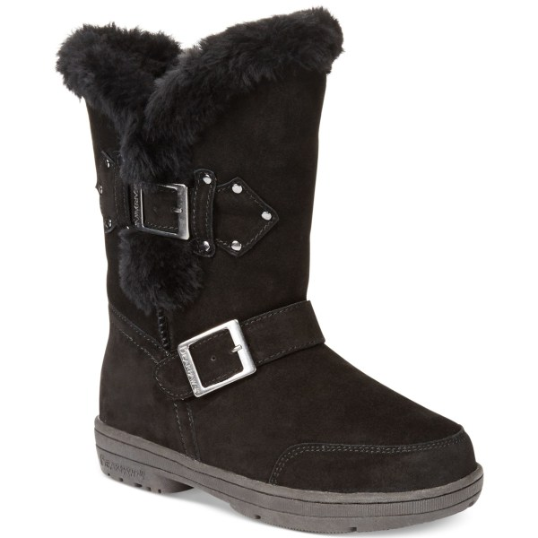 Bearpaw Madeline Cold Weather Boots In Black Lyst
