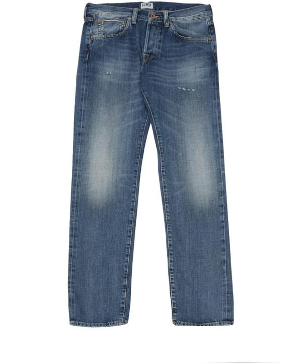 Lyst - Edwin Ed80 Rainbow Salvage Tapered Denim Jeans L32