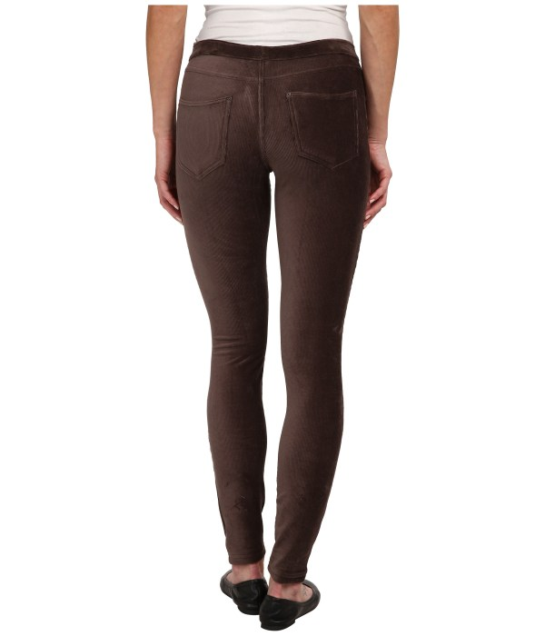 Hue Corduroy Jeans Leggings In Brown Espresso Lyst