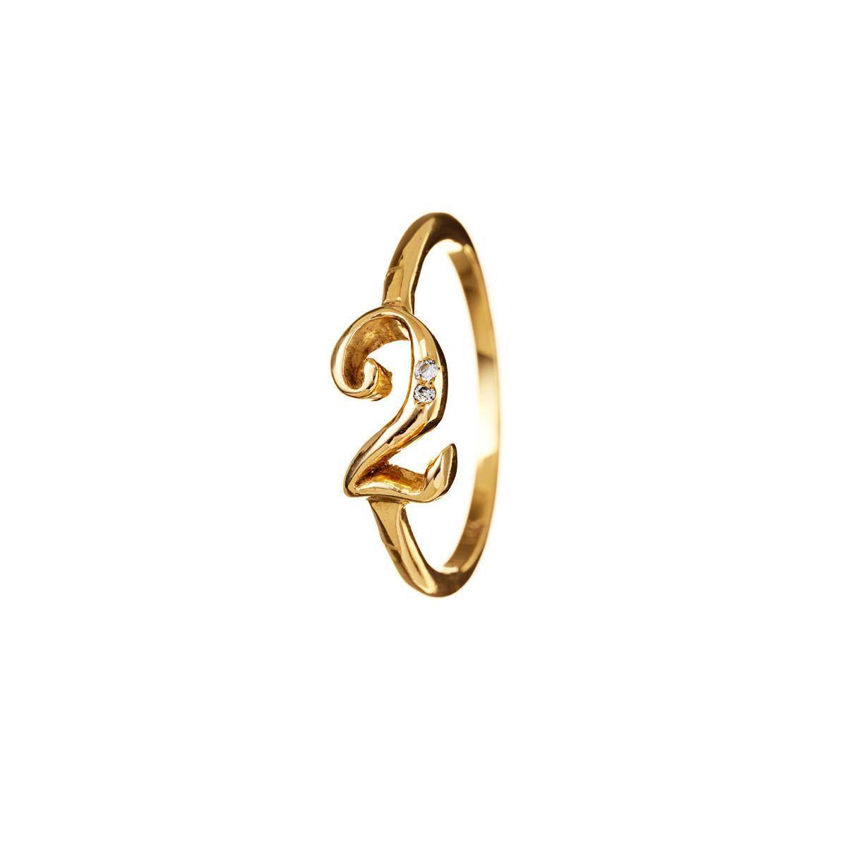 Lyst  Lulu Frost Code Number 18kt 2 Ring in Metallic