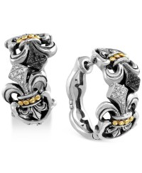 Effy collection Balissima By Effy Diamond Fleur-de-lis ...