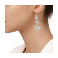 Lyst - Monica Vinader Siren Wire Cocktail Earrings in Metallic