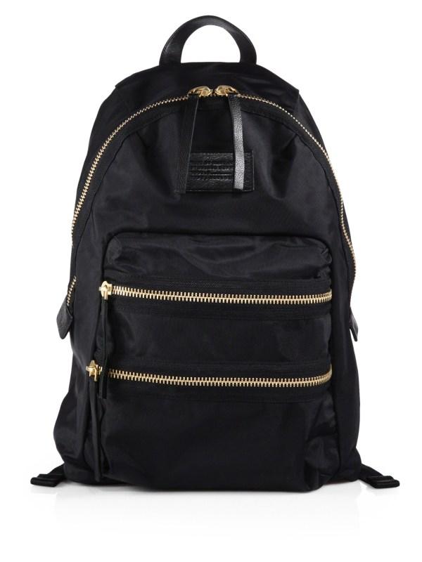 Marc Jacobs Packrat Nylon Backpack In Black