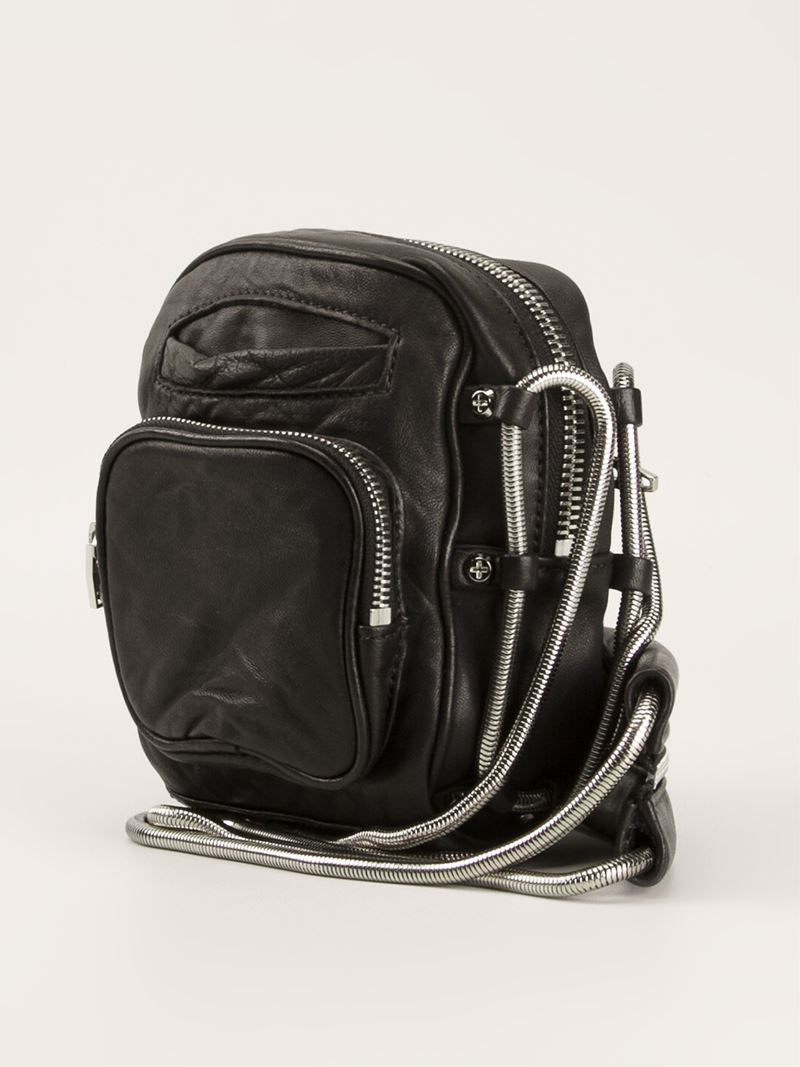 Alexander Wang Brenda Camera Crossbody Bag In Black Lyst