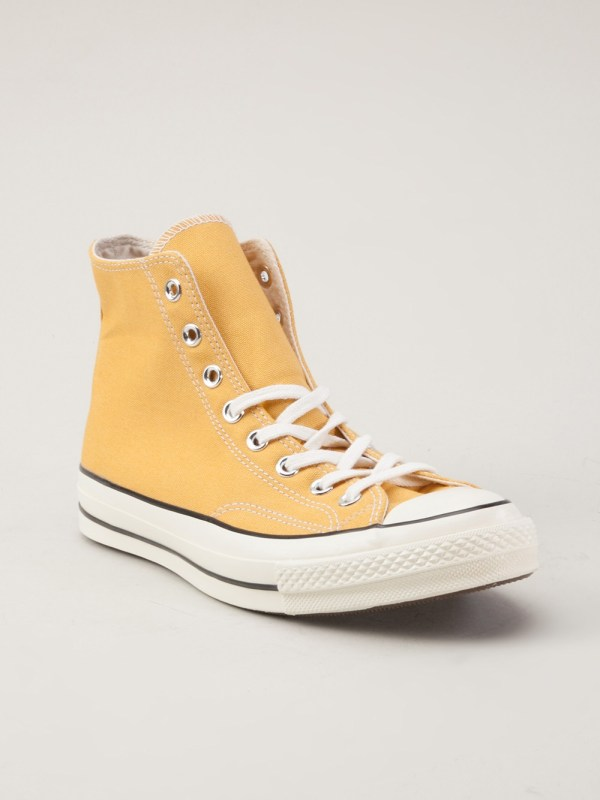 Converse 70s Hitop Shoes In Yellow Men