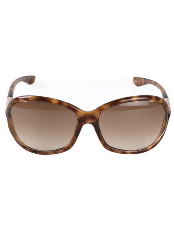 Lyst - Tom Ford 'jennifer' Sunglasses In Brown