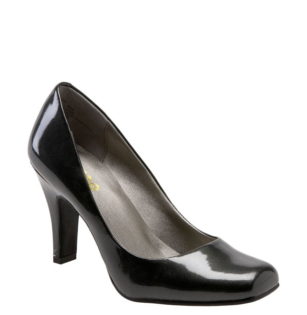 Pixy Pump In Black Pewter Patent Lyst