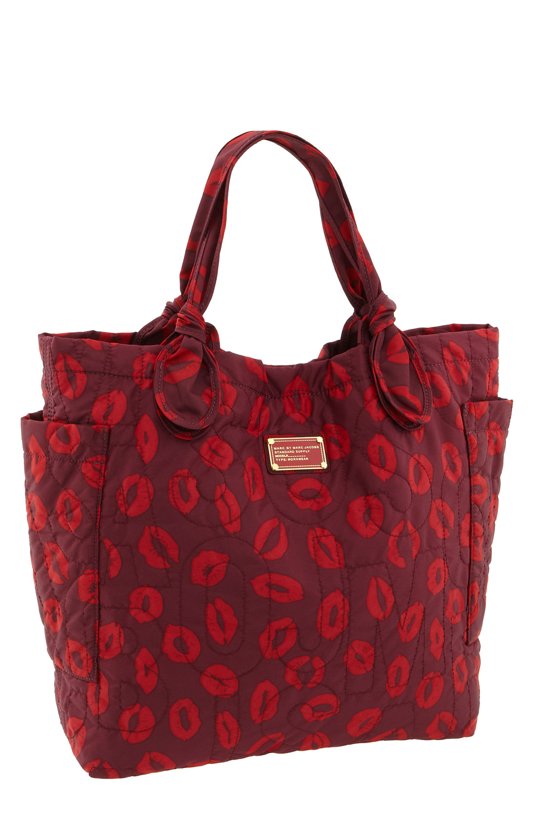 Marc By Marc Jacobs Lip Print Tote Bag In Purple Red Lyst