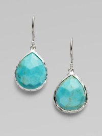 Ippolita Turquoise & Sterling Silver Teardrop Earrings in ...