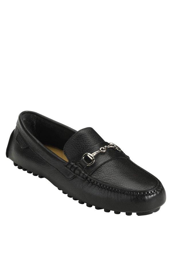 Cole Haan Air Grant Bit Driving Loafer In Black Men Grain Lyst