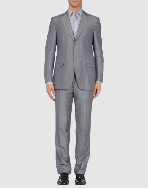 Canali Suits In Gray Men Grey Lyst
