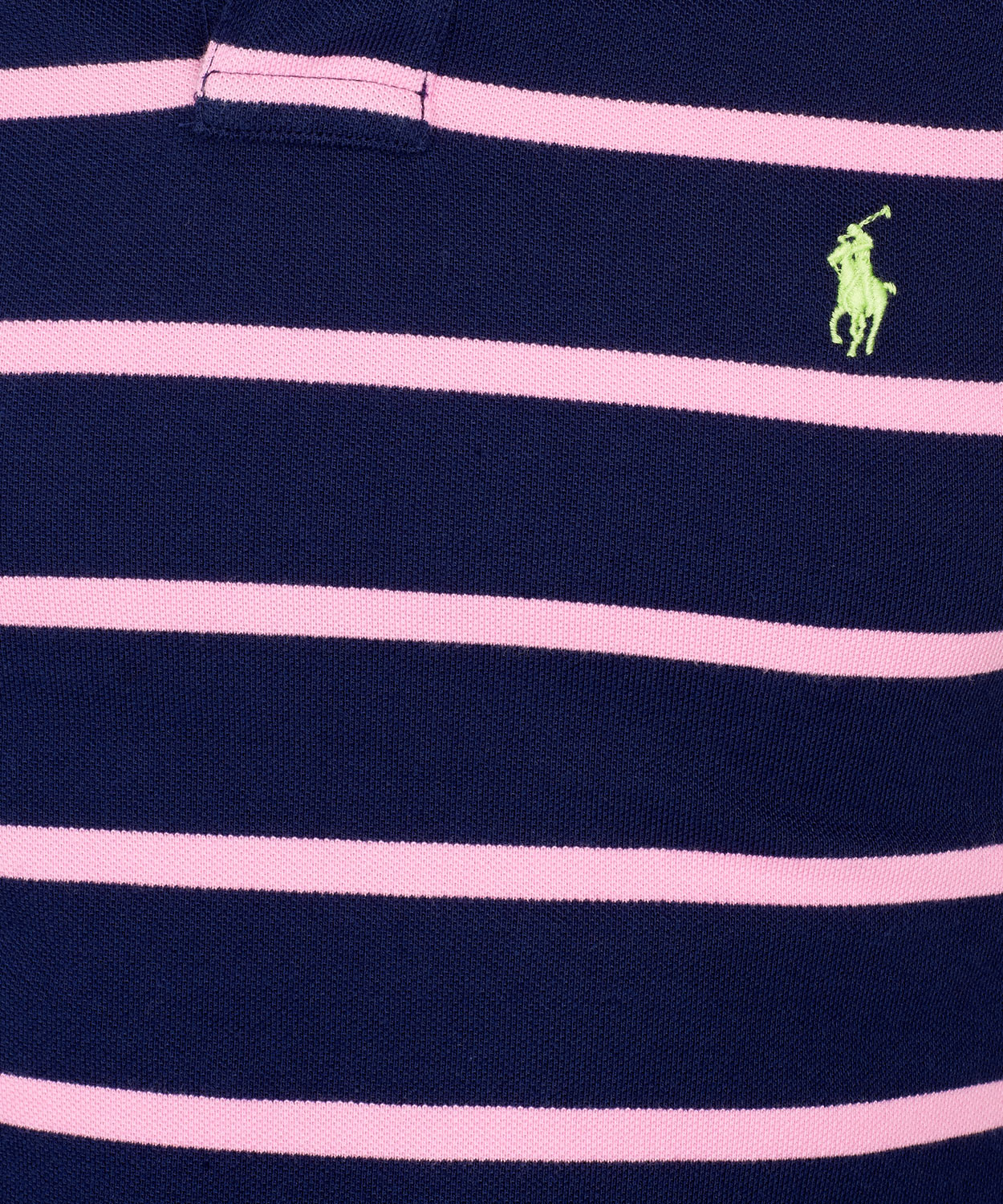 Lyst  Polo Ralph Lauren Navy and Pink Stripe Polo Shirt