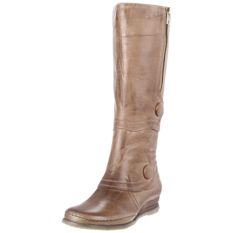 Miz Mooz Womens Portia Knee High Boot In Khaki